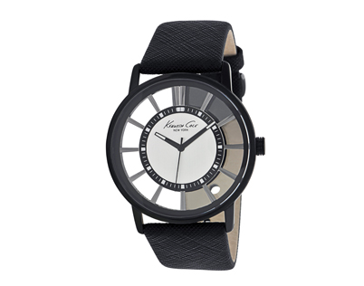 Black Kenneth Cole watch.